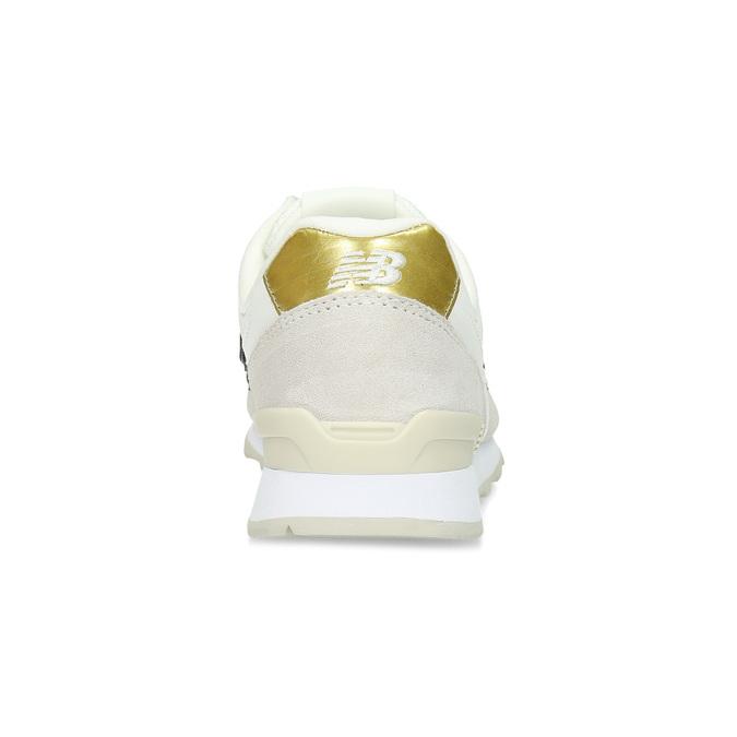 Krémové dámské tenisky z broušené kůže new-balance, béžová, 503-8173 - 15