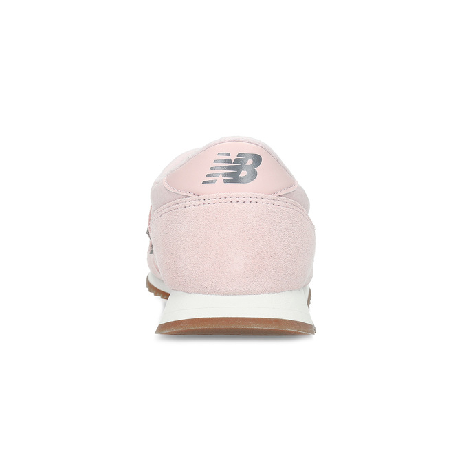 Růžové dámské tenisky z broušené kůže new-balance, růžová, 503-5172 - 15