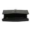 Černá kabelka s imitací hadí kůže bata-red-label, černá, 961-6892 - 15
