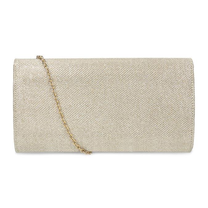 Zlaté dámské psaníčko bata, zlatá, 969-8701 - 16