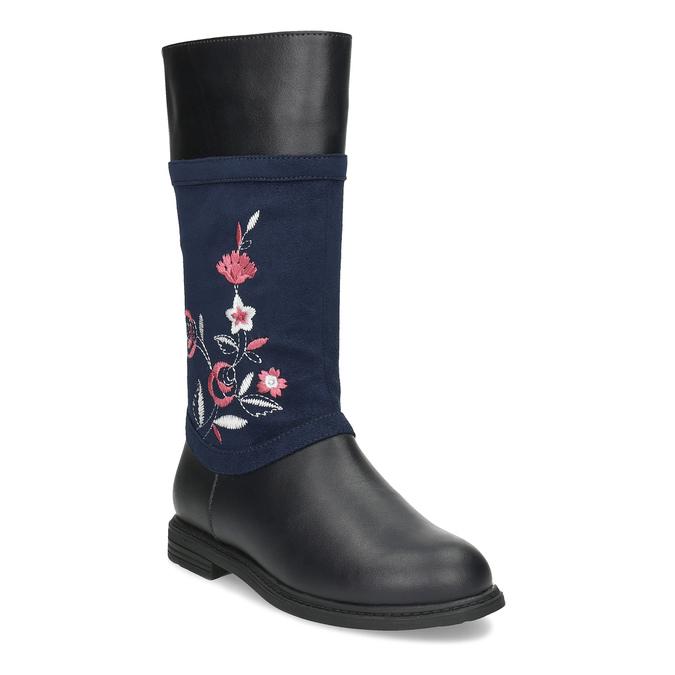 2f3750b1fd9 Mini B Dívčí kozačky s výšivkou - Všechny dětské boty