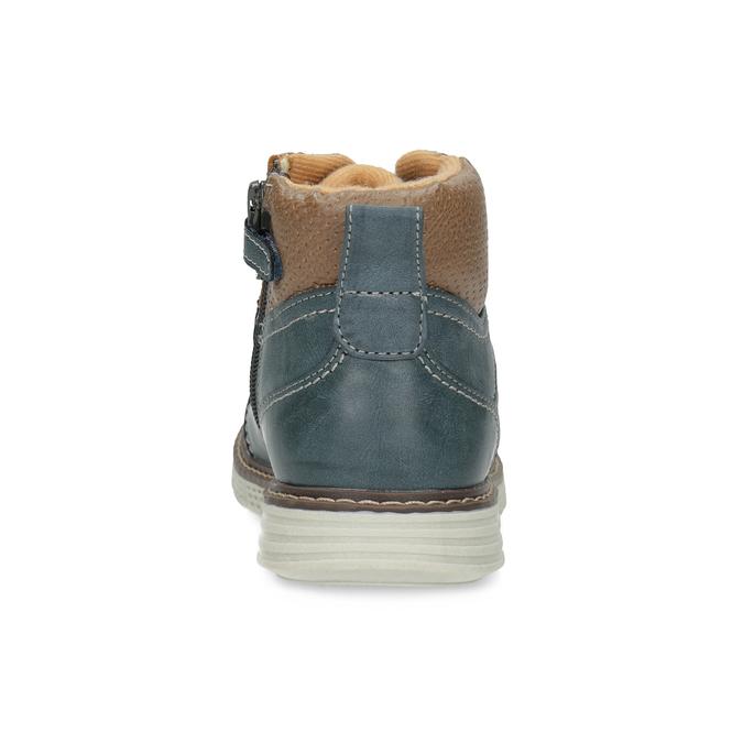 Modrá dětská kotníčková obuv mini-b, modrá, 311-9614 - 15