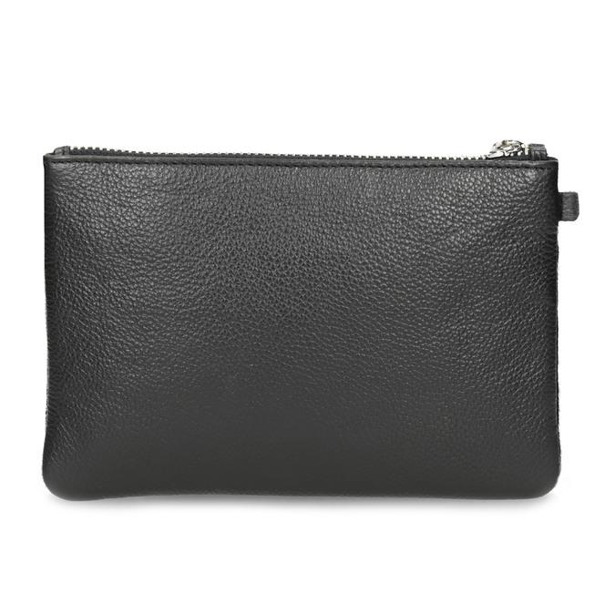 Kožená kapsička s kožešinkou bata, černá, 944-6227 - 16