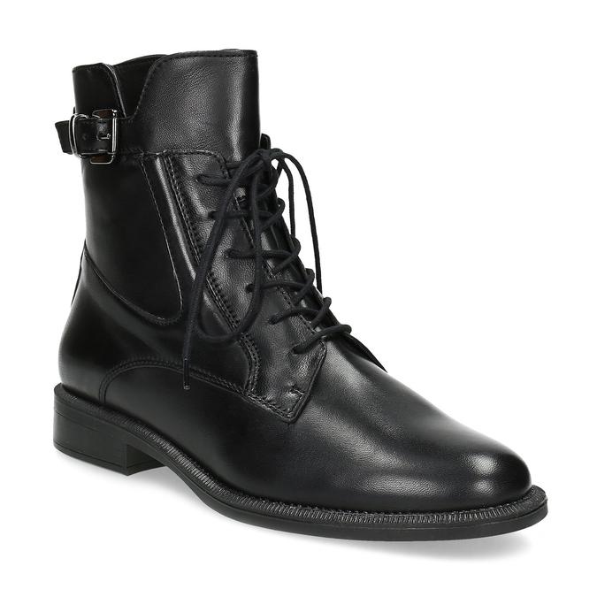 Zimní kotníčková obuv s přezkou bata, černá, 594-6674 - 13