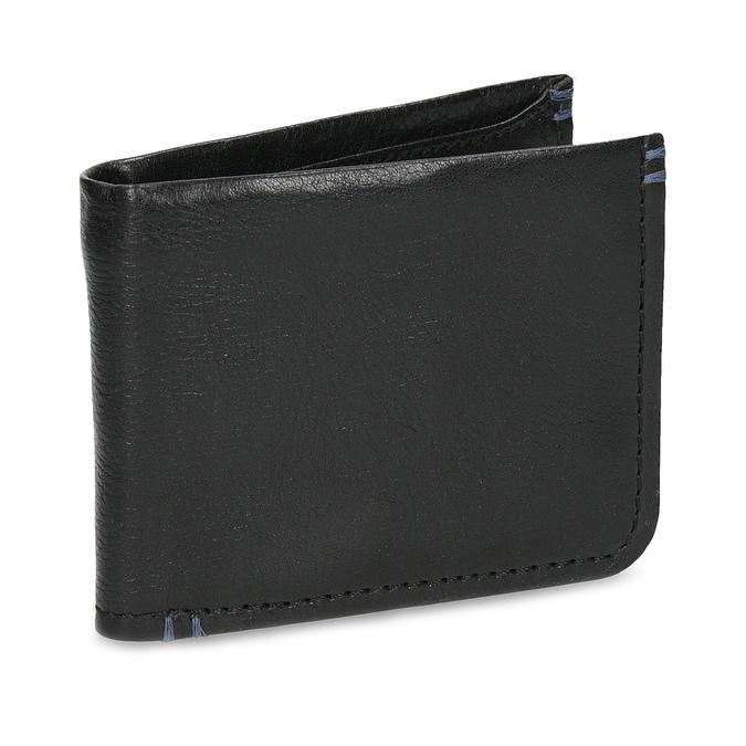 Kožená černá pánská peněženka bata, černá, 944-6214 - 13