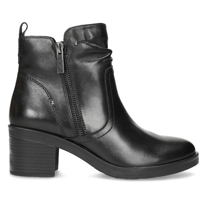 Dámská kotníčková zimní obuv na podpatku bata, černá, 694-6672 - 19