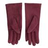 Vínové rukavice s kamínky bata, červená, 909-5692 - 16