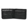 Kožená černá pánská peněženka bata, černá, 944-6214 - 15