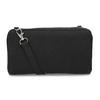 Dámská prostorná černá peněženka bata, černá, 941-6616 - 16