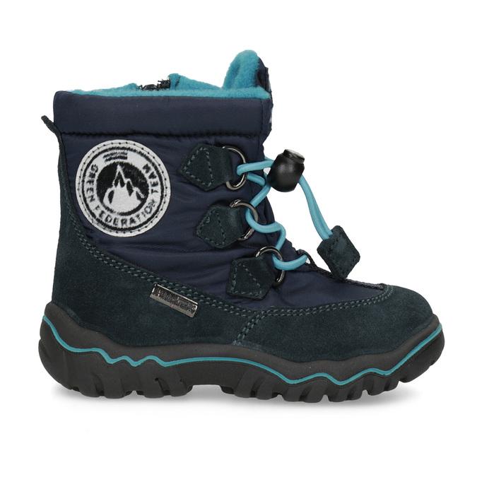 Dětské zimní boty modré bubblegummers, modrá, 199-9604 - 19