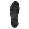 Zimní vysoká kožená kotníčková obuv bata, šedá, 896-2737 - 18