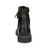 Zimní kožená pánská kotníčková obuv bata, černá, 896-6736 - 15