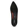 Kožené dámské Loafers s perforací rockport, černá, 513-6036 - 17