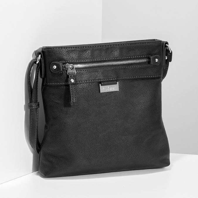 Černá crossbody kabelka gabor-bags, černá, 961-6051 - 17