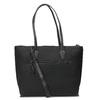 Černá kabelka s přívěskem gabor-bags, černá, 961-6044 - 16