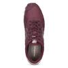 Vínové pánské tenisky z broušené kůže new-balance, červená, 803-5141 - 17