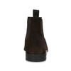 Hnědá kožená pánská Chelsea obuv vagabond, hnědá, 813-4010 - 15