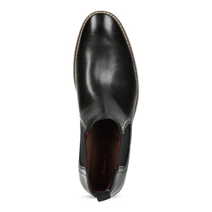 Černá pánská Chelsea obuv bata-red-label, černá, 821-6611 - 17
