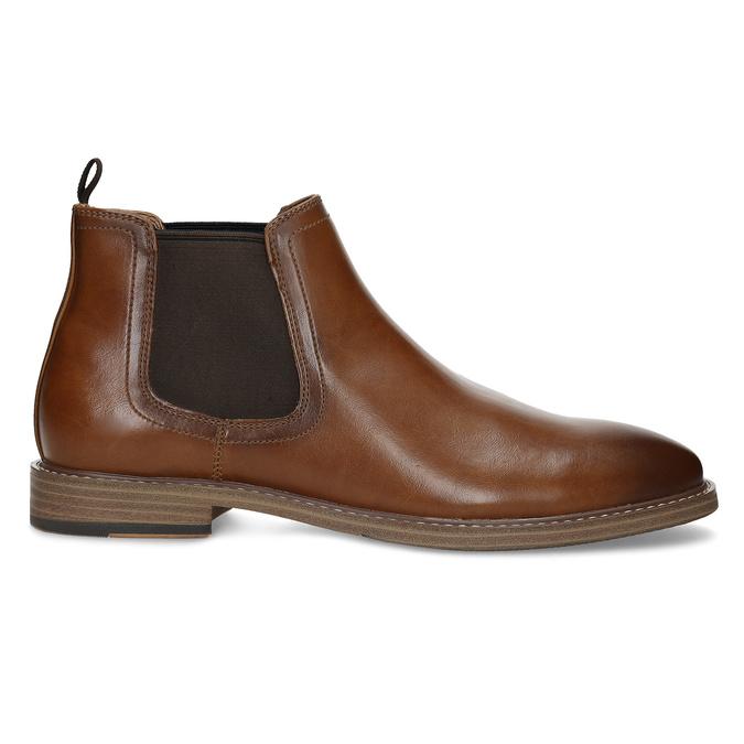 Pánská hnědá Chelsea obuv bata-red-label, hnědá, 821-3611 - 19