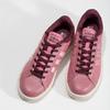 Růžové dámské ležérní tenisky adidas, červená, 501-5101 - 16