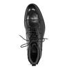 Pánská kotníčková obuv černá lesklá bata, černá, 896-6720 - 17
