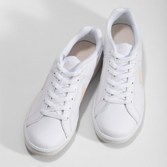 Dámské bílé ležérní tenisky nike, bílá, 501-1125 - 16