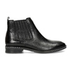 Dámská kožená Chelsea obuv s kamínky bata, černá, 594-6682 - 19