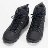 Pánská kožená outdoor obuv weinbrenner, černá, 896-6706 - 16