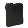 Černá kožená peněženka na zip bata, černá, 944-6603 - 13