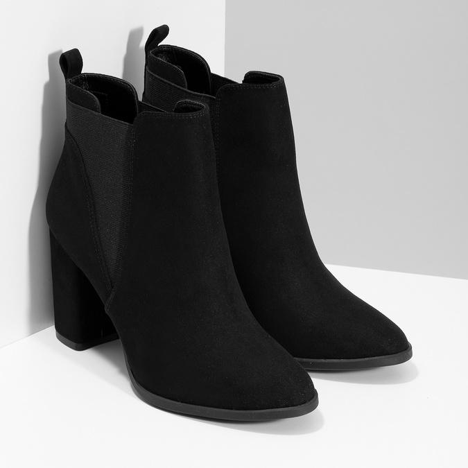 Kotníčková dámská obuv v Chelsea stylu bata-red-label, černá, 799-6629 - 26