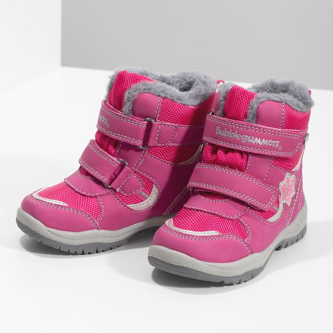 Růžové dětské sněhule bubblegummers, růžová, 199-5602 - 16