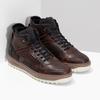 Kotníková kožená pánská zimní obuv bata, hnědá, 896-3712 - 26
