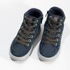 Kožená kotníčková obuv chlapecká mini-b, modrá, 493-9618 - 16