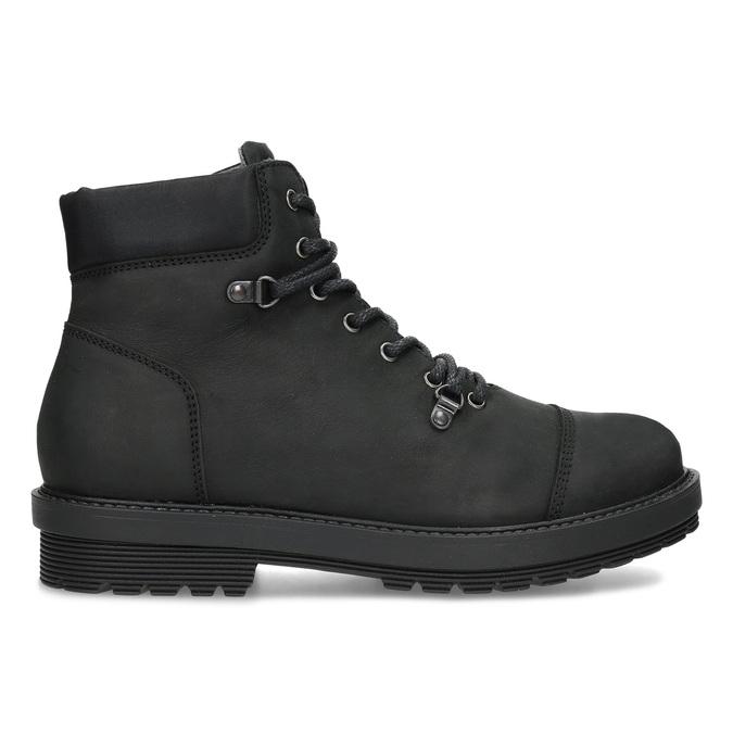 Kožená pánská kotníková obuv bata, černá, 896-6740 - 19