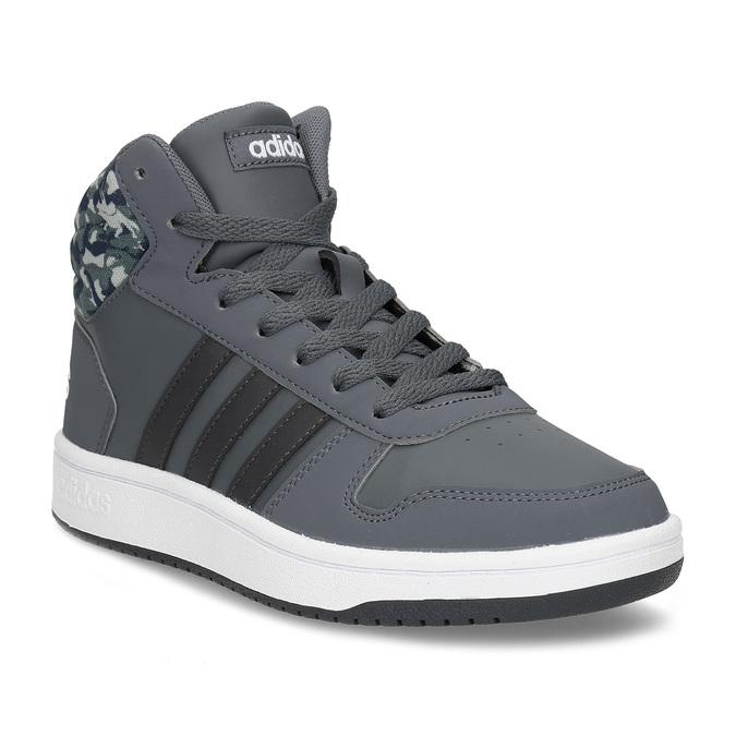Adidas Šedé kotníčkové dětské tenisky - Kotníkové  278cefdf70d