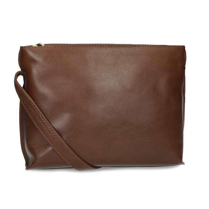 Kožená hnědá crossbody kabelka bata, hnědá, 964-3605 - 16