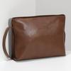 Kožená hnědá crossbody kabelka bata, hnědá, 964-3605 - 17