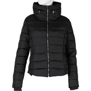 Dámská prošívaná bunda s límcem černá bata, černá, 979-6344 - 13