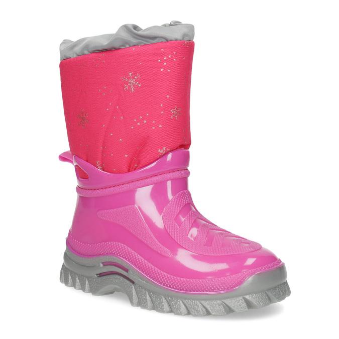 Růžové sněhule s vločkami mini-b, růžová, 292-5301 - 13