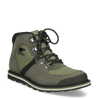 Pánská zimní obuv se šněrováním sorel, zelená, 826-7003 - 13
