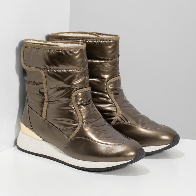 Dámské sněhule bronzové bata, bronzová, 599-8626 - 26