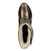 Dámské sněhule bronzové bata, bronzová, 599-8626 - 17