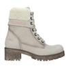 Kožená zimní obuv s kožíškem weinbrenner, béžová, 696-3336 - 19