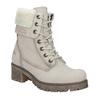 Kožená zimní obuv s kožíškem weinbrenner, béžová, 696-3336 - 13