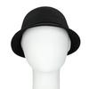 Černý dámský klobouk s perličkami bata, černá, 909-6283 - 16