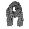 Šedý dámský šátek s třásní bata, vícebarevné, 909-0703 - 26