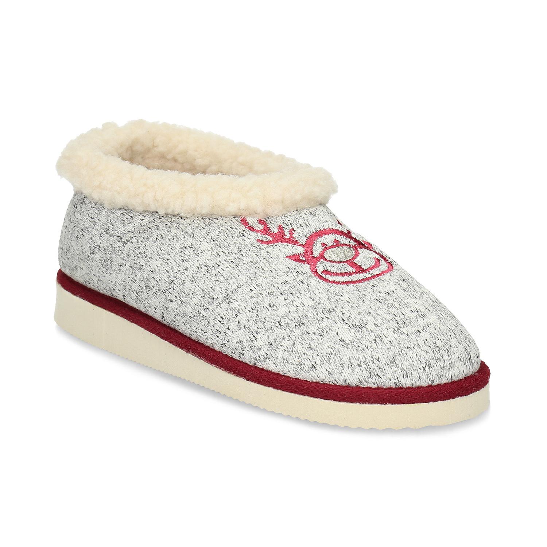 Baťa Dámská domácí obuv se zateplením - Tipy na dárky pro ni  4673033305