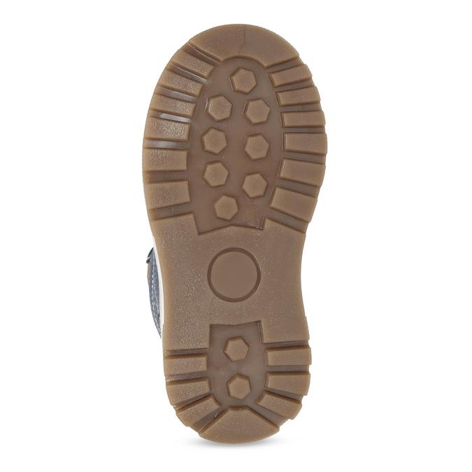 Dětské kožené zimní boty modré mini-b, modrá, 294-9601 - 18