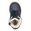 Dětské kožené zimní boty modré mini-b, modrá, 294-9601 - 17