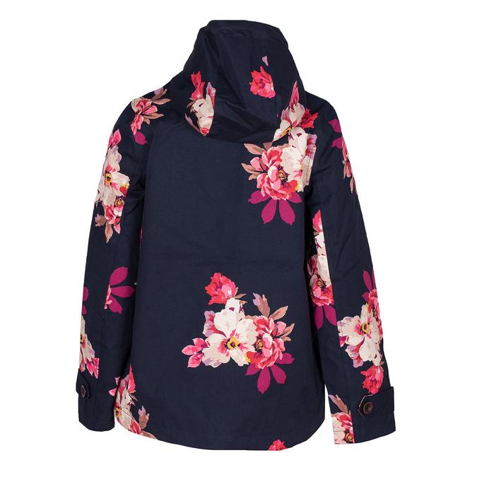 Modrá dámská bunda s květinovým vzorem joules, modrá, 979-9022 - 26